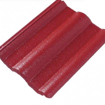 กระเบื้องหลังคาคอนกรีต เอสซีจี รุ่นซีแพค สีแดงกุหลาบ
