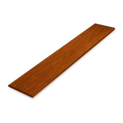 ไม้ระแนงเอสซีจี ขนาด 7.5x300x0.8 ซม. สีสักน้ำตาลสเปเชียลพลัส