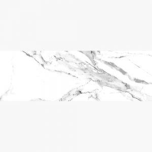 กระเบื้องบุผนัง WT 12X36 ริทซ์มาร์เบิล กลอสขาว ตัดขอบ PM