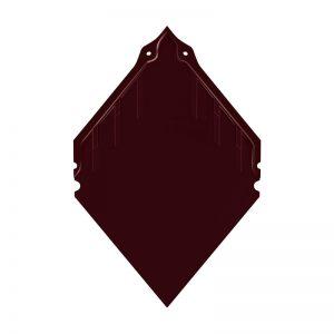 กระเบื้องผืนหลังคาคอนกรีต เอสซีจี รุ่น นิวสไตล์ โอเรียนทอล สีแดงสราญรมย์
