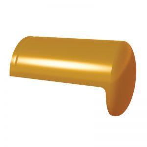 ครอบโค้งปิดจั่ว เซรามิค เอสซีจี รุ่นเอ็กซ์เซลล่า คลาสสิค เหลืองทองอุไร