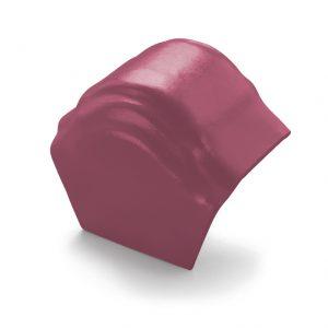 ครอบโค้งปิดปลาย (ระบบครอบ 3 ชิ้น) ไฟเบอร์ซีเมนต์ เอสซีจี รุ่นพรีม่า สีม่วงทอประกาย