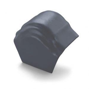 ครอบโค้งปิดปลาย (ระบบครอบ 3 ชิ้น) ไฟเบอร์ซีเมนต์ เอสซีจี รุ่นพรีม่า สีเทาแกรนิต
