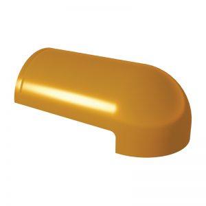 ครอบโค้งหางมน เซรามิค เอสซีจี รุ่นเอ็กซ์เซลล่า คลาสสิค เหลืองทองอุไร