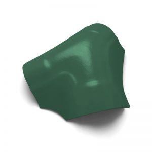 ครอบโค้ง 3 ทาง ไฟเบอร์ซีเมนต์ เอสซีจี รุ่นพรีม่า สีเขียวกฤษณา