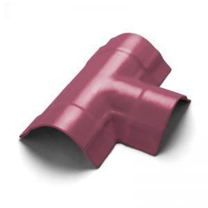 ครอบโค้ง 3 ทาง T ไฟเบอร์ซีเมนต์ เอสซีจี รุ่นพรีม่า สีม่วงทอประกาย