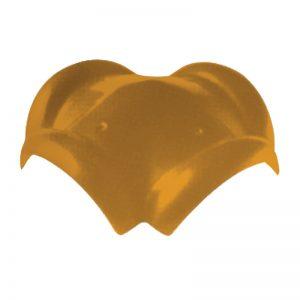 ครอบโค้ง4ทาง เซรามิค เอสซีจี รุ่นเอ็กซ์เซลล่า คลาสสิค เหลืองทองอุไร