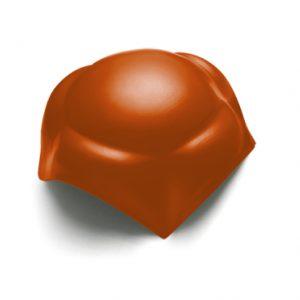 ครอบ 4 ทาง (ระบบครอบชิ้นเดียว) ไฟเบอร์ซีเมนต์ เอสซีจี รุ่นพรีม่า สีส้มอิฐ
