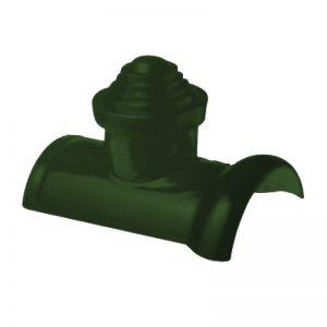 ชุดครอบโค้งปล่อง เอสซีจี สำหรับหลังคาเอ็กซ์เซลล่า คลาสสิค-สีเขียวแก้วมณี