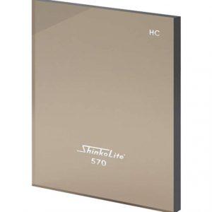 Shinkolite Heat cut Classic Brown ขนาด 1380x4000 หนา 6 มม.